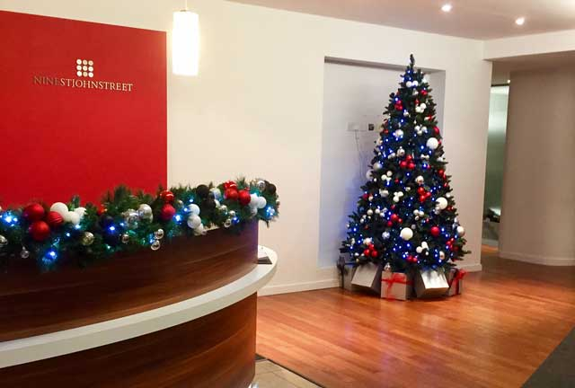Christmas trees for offices